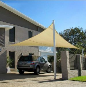 100% New HDPE Car Parking Sun Shade Sail (Manufacturer)
