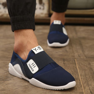 Sports Running Sneakers Slip-on Breathable Footwear for Men Shoe (AKRS16) pictures & photos