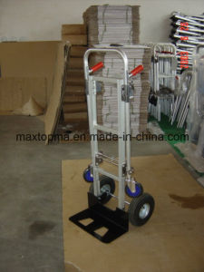 Europe and The United States Aluminiun Hand Truck Tool Cart (Ht1864) pictures & photos