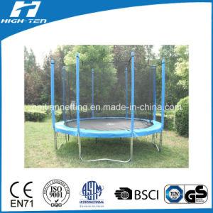 Premium Standard Round Big Trampoline with Enclosure pictures & photos