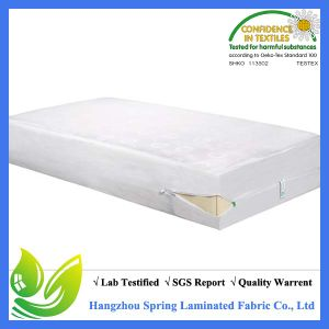 Zipper Sealed Deep Pocket Fits Mattress 6 Side Waterproof Waterproof Mattress Encasment pictures & photos