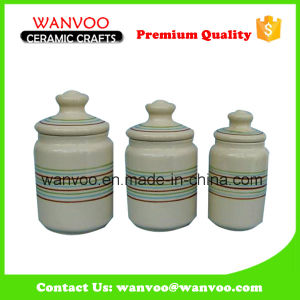 Vintage Ceramic Tea Storage Round Container pictures & photos