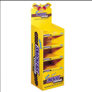 mm Chocolate Cardboard Display Racks pictures & photos