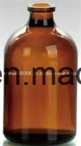 100ml USP Type II & III Amber Molded Injection Glass Vial pictures & photos