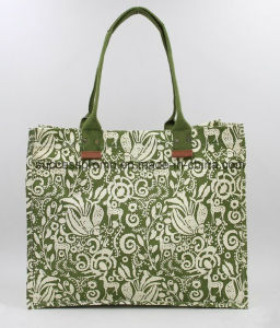 Promotional Logo Printed Custom Canvas Cotton Tote Bag pictures & photos