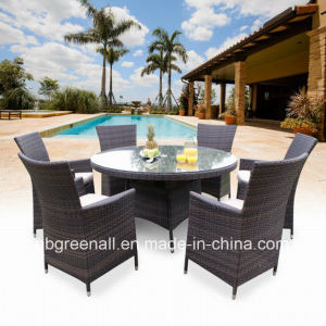 Outdoor Rattan Dining Table Set (GN-8623D) pictures & photos