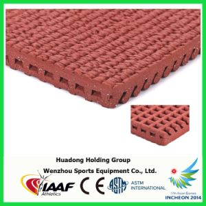 All Weather 13mm Rubber Running Track Mat pictures & photos