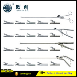 Reusable Stainless Laparoscopic Abdominal Surgical Needle Holder pictures & photos