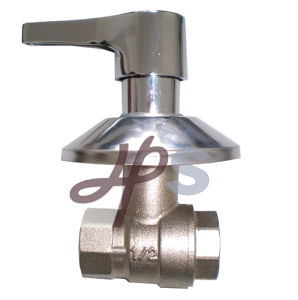 Brass PPR Ball Valve with Ornate Cap pictures & photos