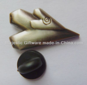 Customized Small Antique Gold Plating Pin pictures & photos