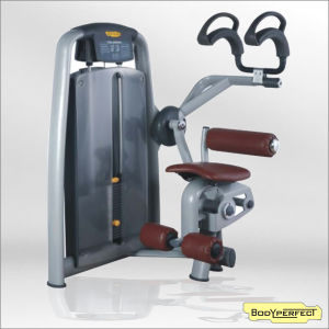 Pin Loaded Abdominal Crunch Gym Equipment Exercise Machine pictures & photos