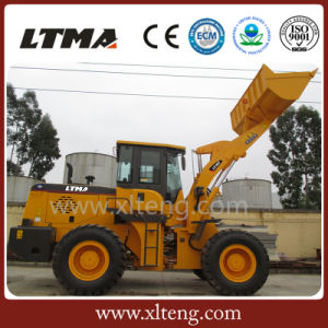 Ltma Front Loader 3.5 Ton Wheel Loader with Tires pictures & photos