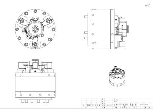 End Cover Lathe Hydraulic Fixture pictures & photos