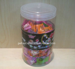 4G Center Filled Chewy Candy in Plastic Jar pictures & photos
