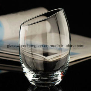 Crystal Whiskey Glass Cup with Slant Top (B-C017) pictures & photos