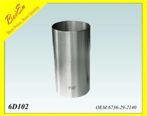 Cylinder Liner for Excavator Engine 6D102 Part Number: 6736-29-2140 pictures & photos