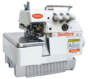 Direct Drive Super High Speed Overlock Sewing Machine pictures & photos