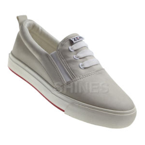 Slide PU Vulcanized Shoe for Children pictures & photos