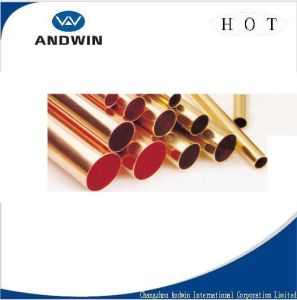 Straight Copper Tube Made of Pure Copper for R410A Refrigerant pictures & photos