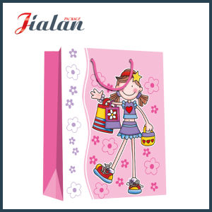 Custom 4c Printed Girl′s Garments Packing Shopping Paper Gift Bags pictures & photos
