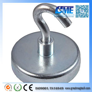 Strong Force D32mm 34 Kg Pull Clamping Hook Magnet pictures & photos