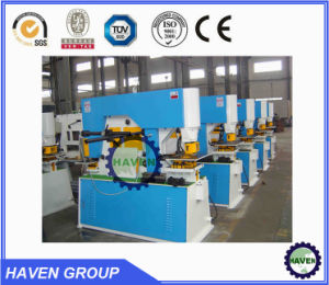 Hydraulic Iron Workers, Hole Punching Machine Model Q35Y-20 pictures & photos