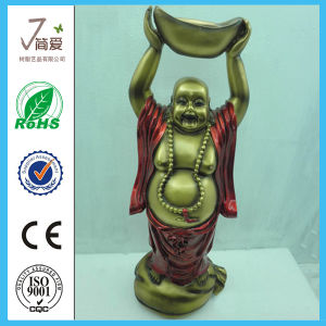 Polyresin Chinese Matreya Buddha for Decoration pictures & photos