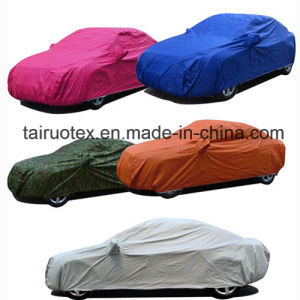 Printed Car Cover Fabric with High Waterproof of 100% Polyester pictures & photos