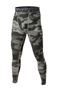 Compression Pants Camouflage Sports Running Jogging Gym Leggings Tracksuit (AK2015008) pictures & photos