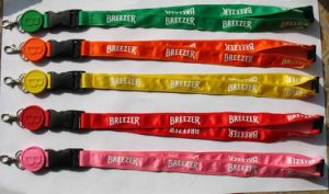 Hotsale Fashion Design Colorful Polyester Neck Lanyards with Custom Logo 57 pictures & photos