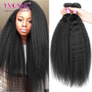 Top Quality Kinky Straight Brazilian Virgin Human Hair pictures & photos