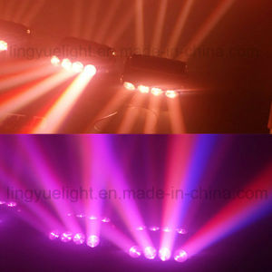 8X10W Color Changing Spider Movinghead LED Stage Light pictures & photos