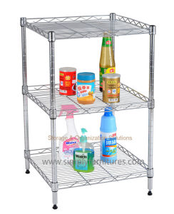 "SGS Approval 2 Layers Kitchen Shelving (36""X36"") pictures & photos"