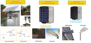Solar Powered LED Outdoor Solar Area/ Yard / Garden Lighting