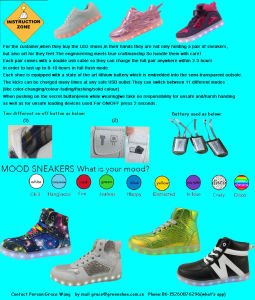 Hot Selling New Simulation LED Shoes (GS-75262) pictures & photos