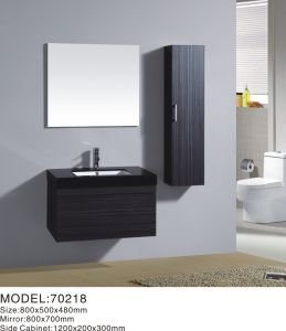 New Design Wall Hanging Modern Bathroom Vanities PVC/MDF Cabinet pictures & photos