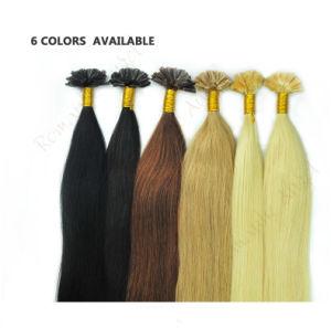 100% Real Indian Virgin Human Hair Keratin Tip U-Tip Nail Hair Extensions Smooth Seamless Hair pictures & photos