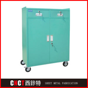 China Factory Metal Tool Box with Wheels pictures & photos