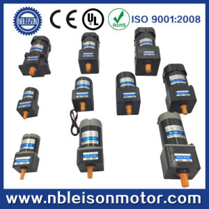 25W 110V 220V 100rpm 300rpm 500rpm Small AC Geared Motor pictures & photos