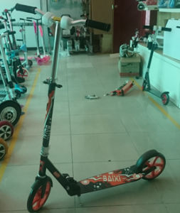 200mm PU Wheel Adult Aluminum Kick Scooter (BX-2MBF200) pictures & photos