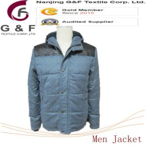 Man Polyester Life Green Down Jacket