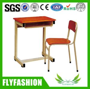 Cheap School Classroom Single Student Study Desk and Table (SF-04S) pictures & photos