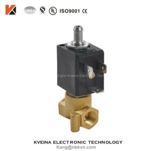 5515-07 Micro 3 Way Brass Cheap Solenoid Valve pictures & photos