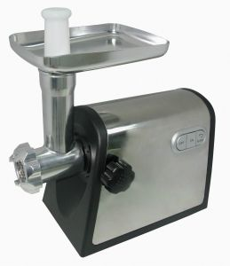 Hot Sale Powerful Efficient Stainless Steel Housing Electric Meat Grinder