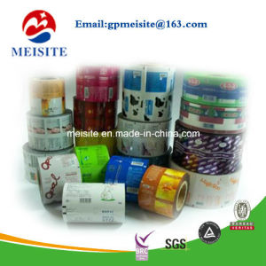 Food Grade Plastic Film Roll, PVC Shrink Sleeve Film, Shrink Film in Roll pictures & photos
