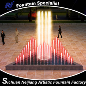 Music Water Fountain for Small Triangle Pool pictures & photos