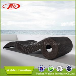 Garden Outdoor Rattan Patio Sunlounger (DH-9570) pictures & photos