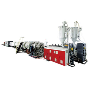PE Gas Pipe Extrusion Line pictures & photos
