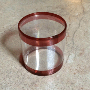 Plastic Custom Clear Tube Packaging pictures & photos