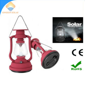 Hand Crank Dynamo LED Camping Light Solar Lantern pictures & photos